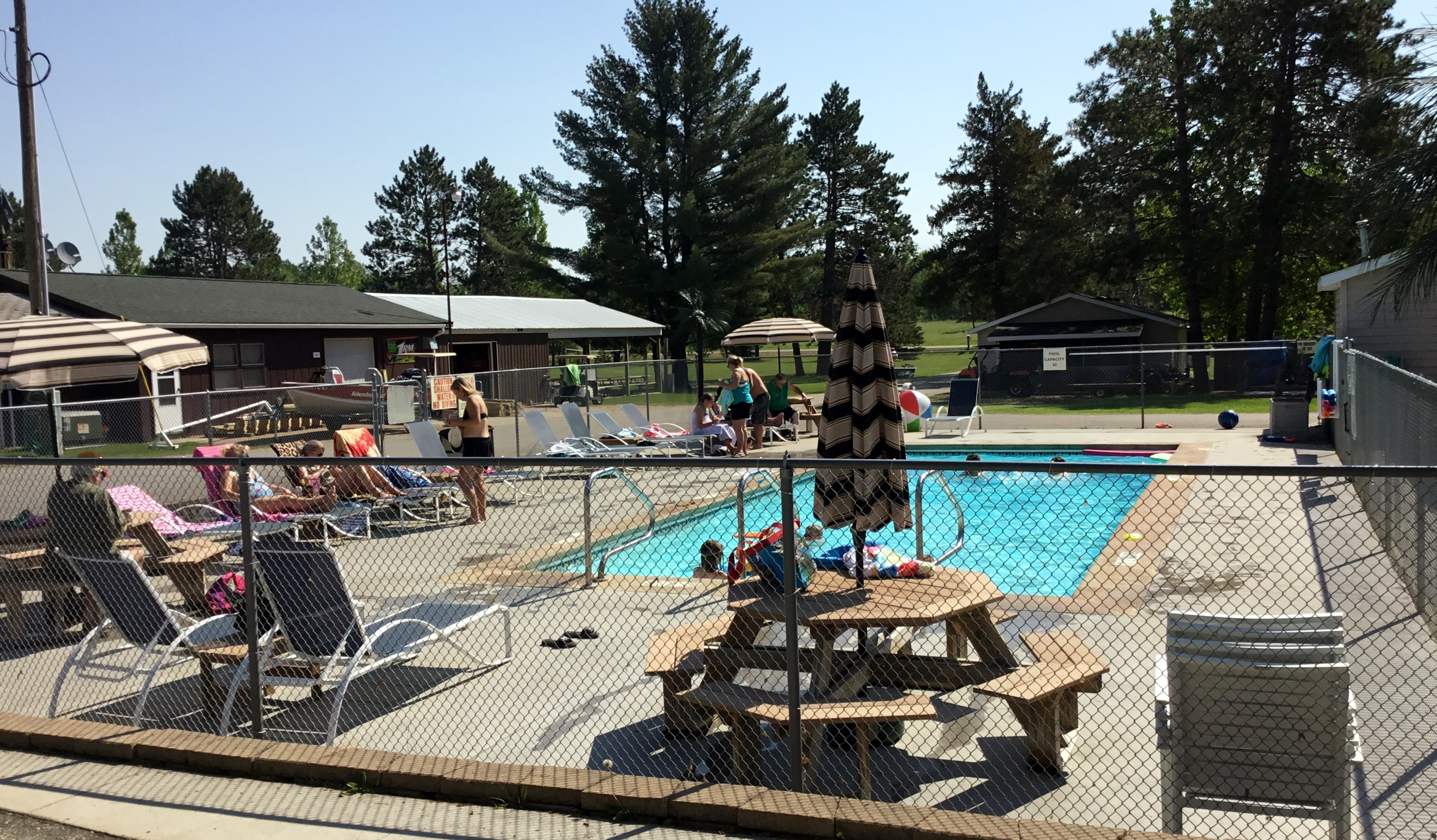 Balsam Beach Resort offers a pool for all of our guests.